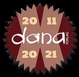 Dana Förlag 10 år 2011-2021